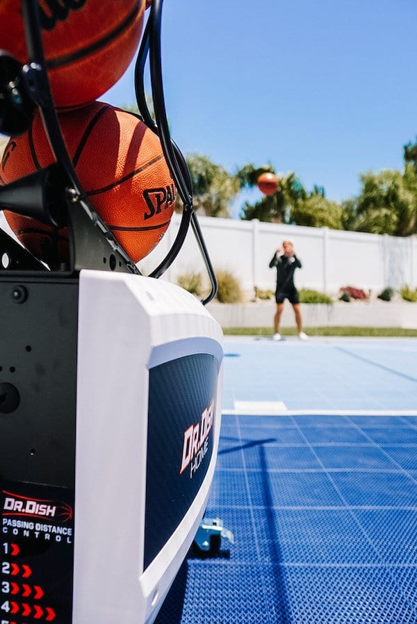 Dr. Dish Basketball Shooting Machine