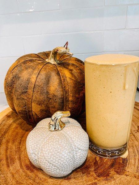 DIY Pumpkin Frappuccino