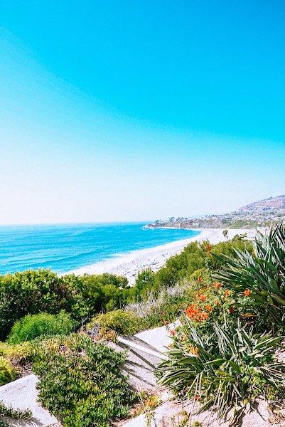 View of Salt Creek Beach from Ritz Carlton