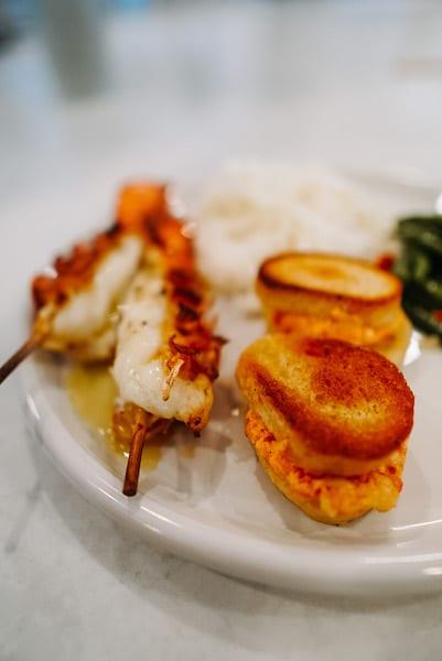 What does Lobster taste like. Split tail lobster