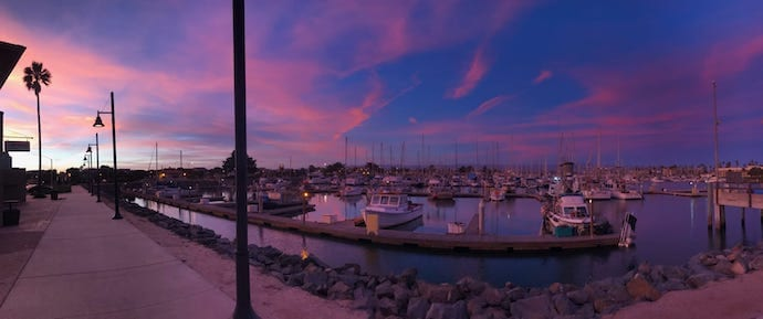 Waterside Restauant for waterfront dining in Oxnard CA