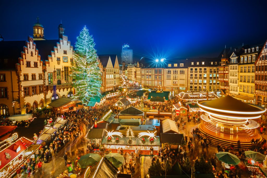 best christmas vacations for families - Frankfurt Germany