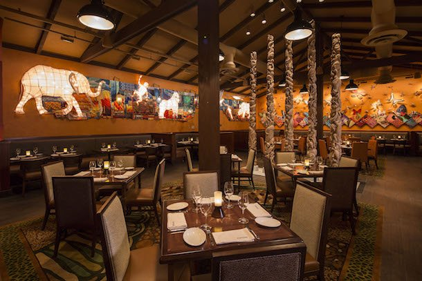 best animal kingdom restaurant - tiffins
