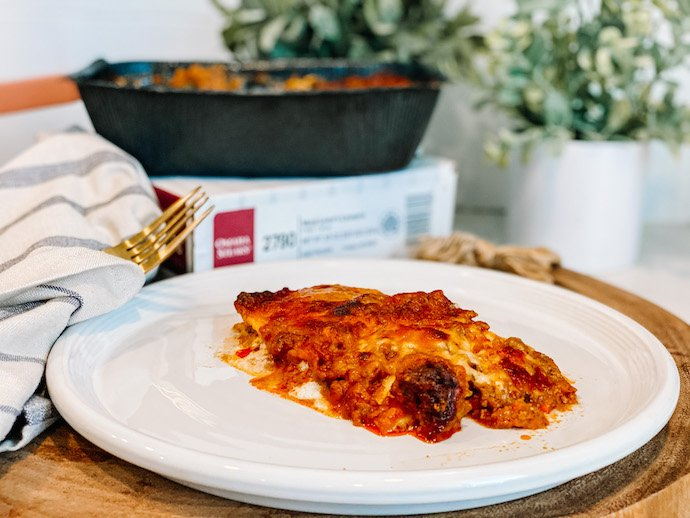 Fall Foods from Omaha Steaks- Meat Lovers Lasagna