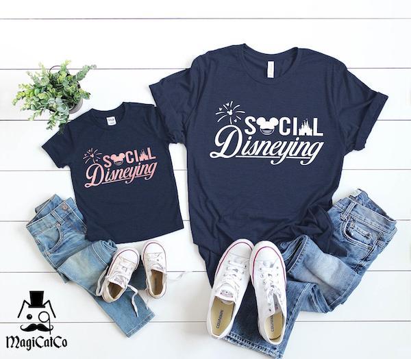 Social Disneying Matching Shirts