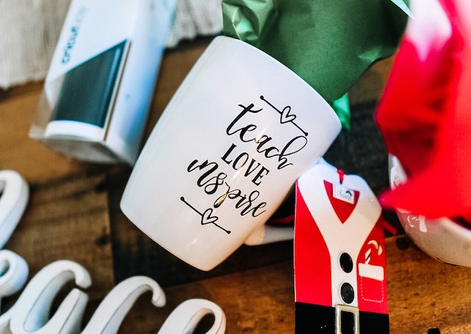 Holiday Gifts with Cricut