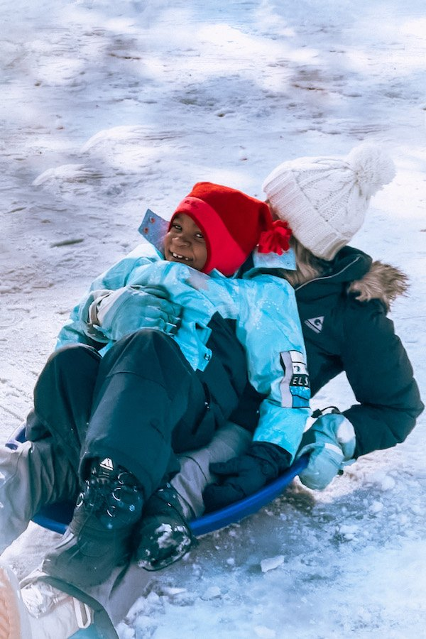 things to do in big bear winter - sledding