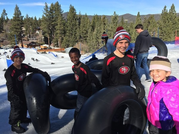 tubing at big bear
