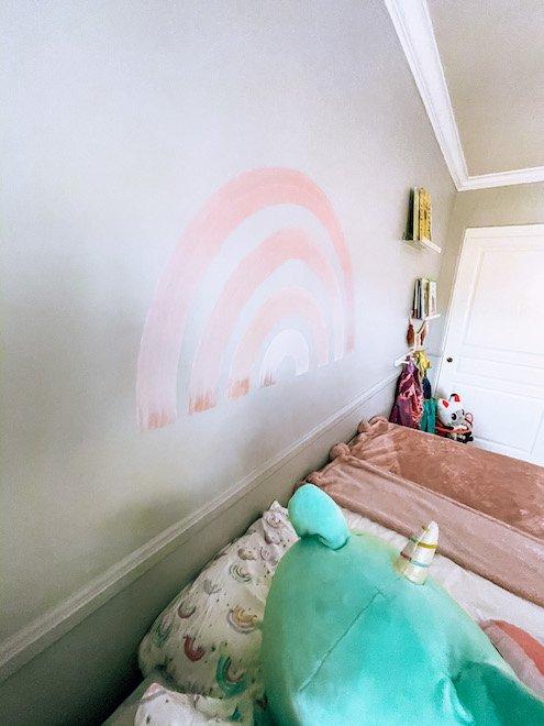 Girls Rainbow Room Wall Art