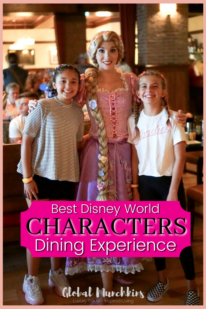 Best Disney World Characters Dining Experience Global Munchkin
