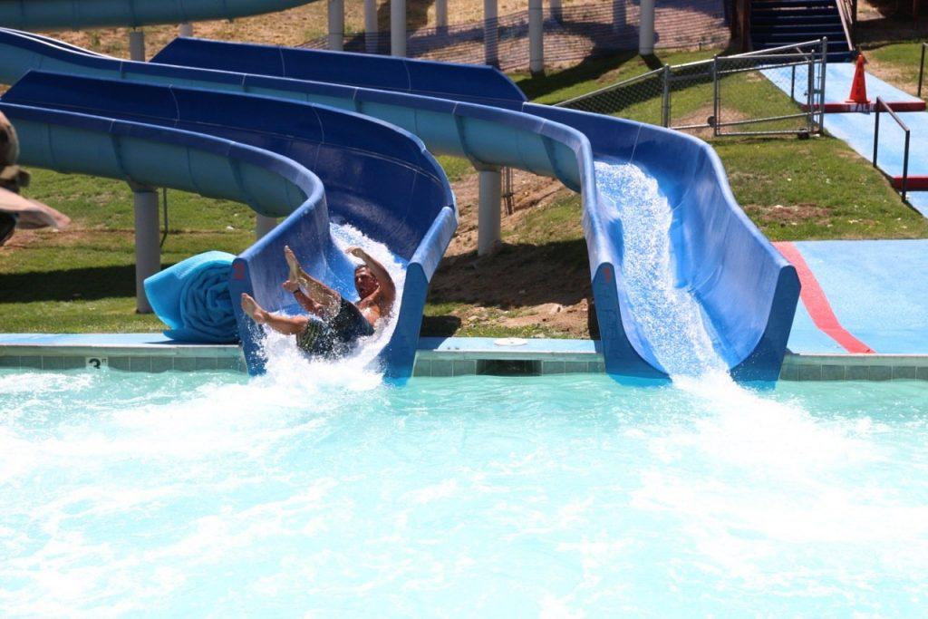 big bear summer water slide