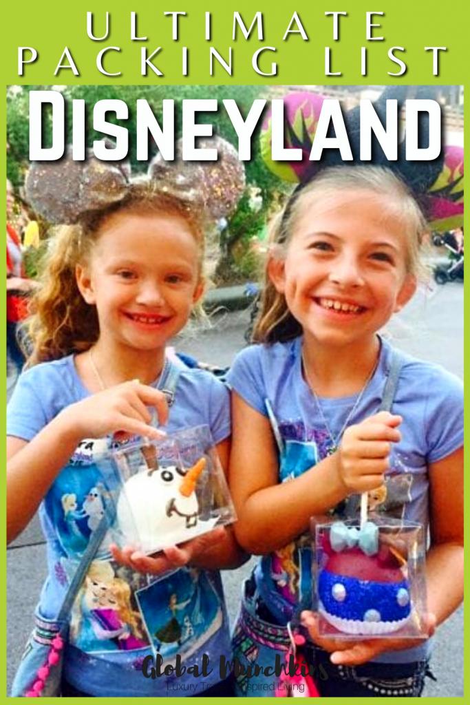 Ultimate Packing List Disneyland Global Munchkin