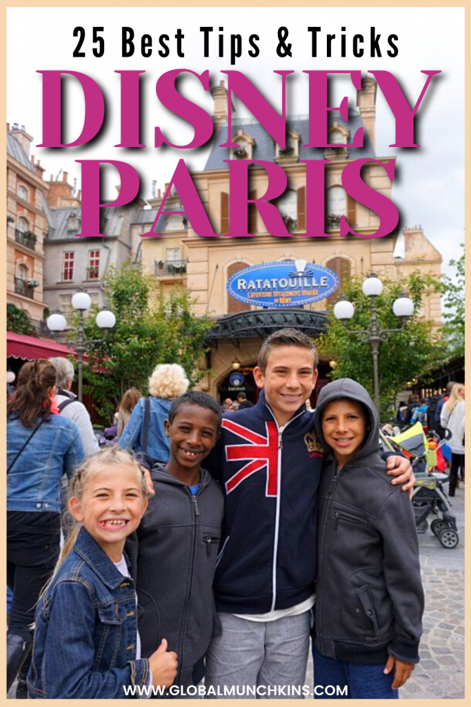 A couple of years ago we were lucky enough to find ourselves in Europe with all the kiddos. After a whirlwind journey through England, Rome & Paris, it was time to give the kids something for them, so we headed to Disney Paris. Disneyland Paris was such a unique experience that we absolutely loved. Sure, you have the traditional Disney Castle and Main St. but Disney Paris has so much more! Check out our best tips and tricks plus an ultimate travel guide for your family adventure!
