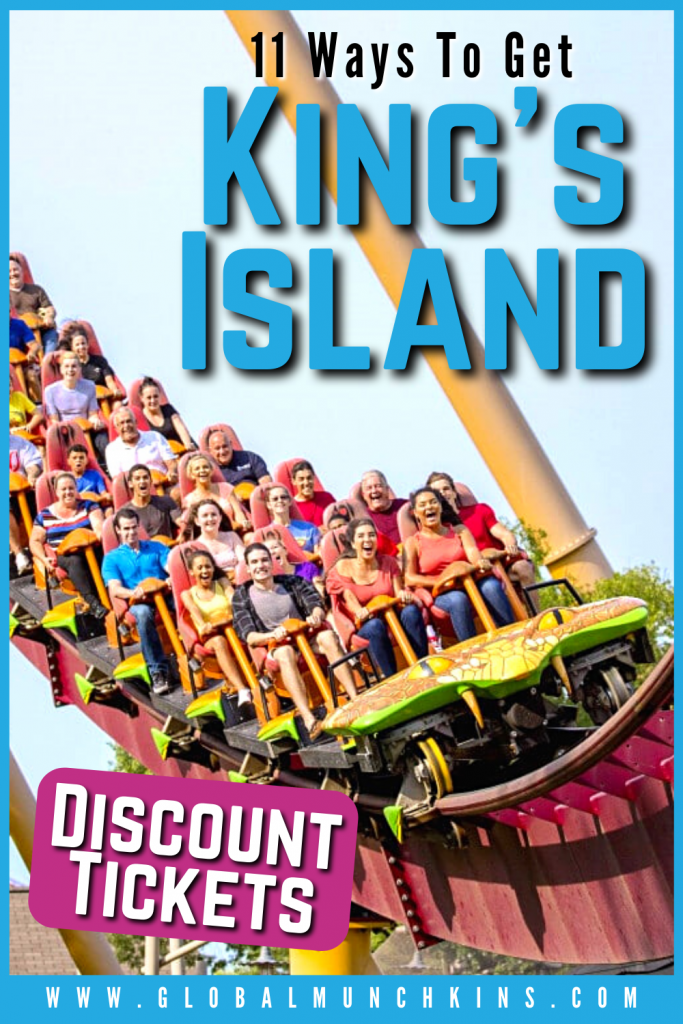 Pin Ways To Get Kings Island Discount Tickets Global Munchkins
