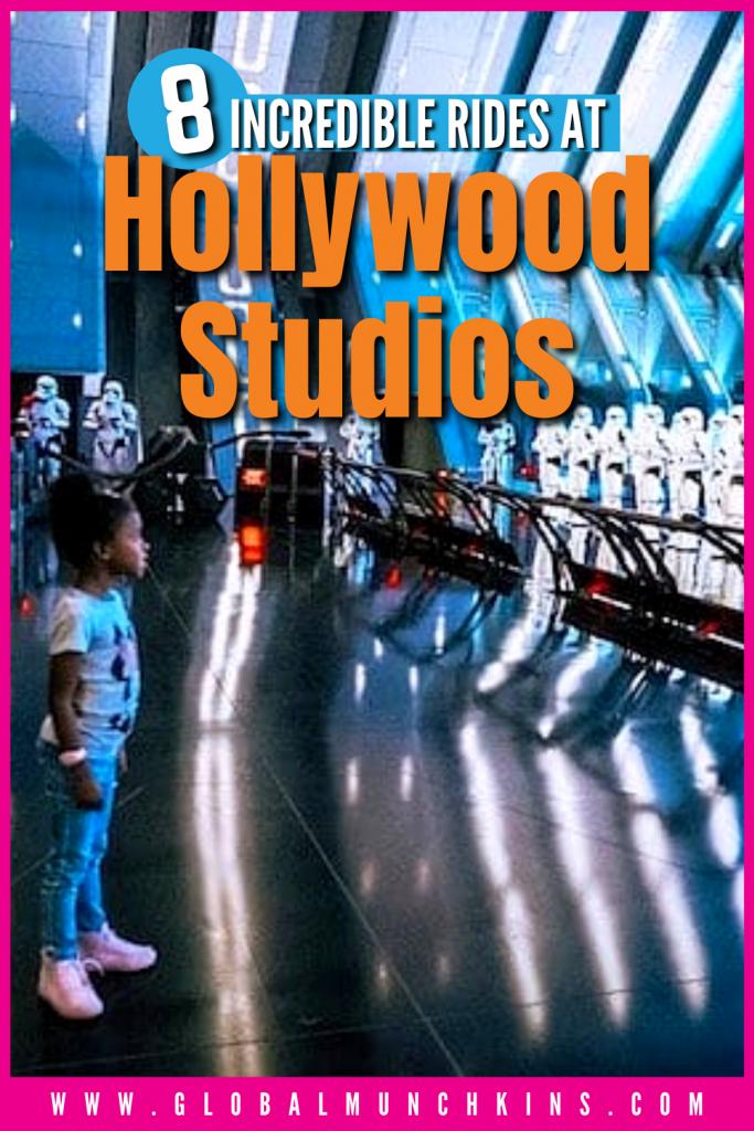 Pin 8 Incredible Rides At Hollywood Studios Global Munchkins