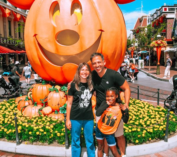 Disneyland Halloween Mickey Pumpkin