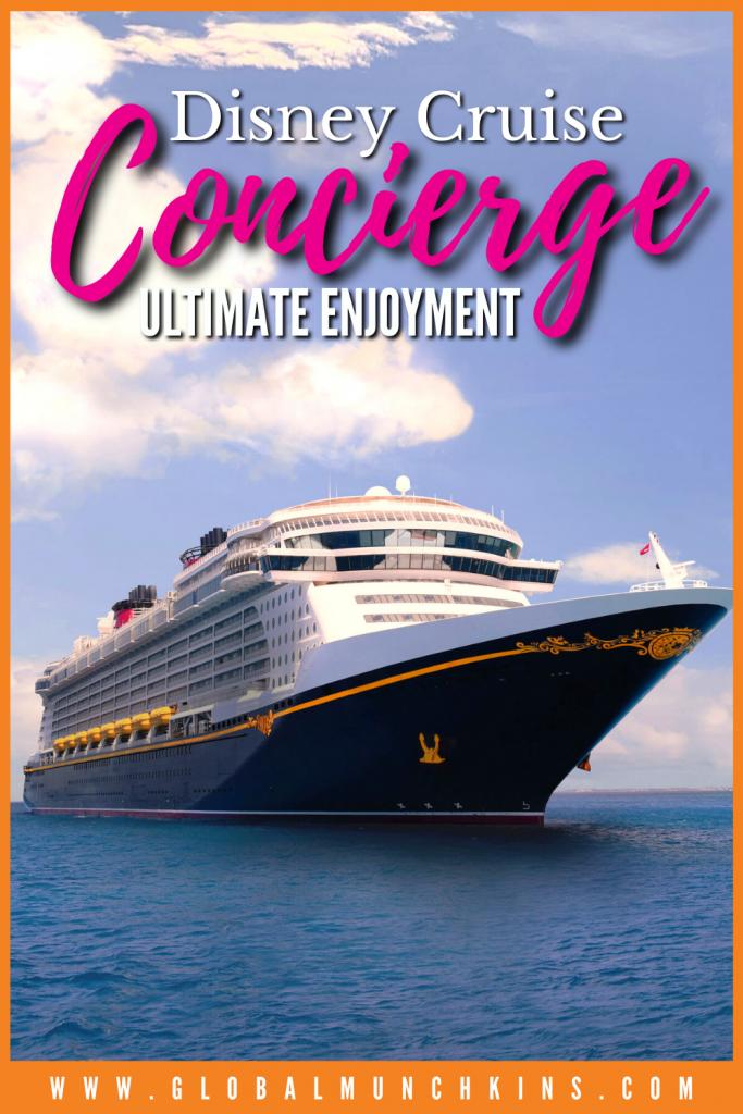 Pin Disney Cruise Concierge Ultimate Enjoyment Global Munchkins